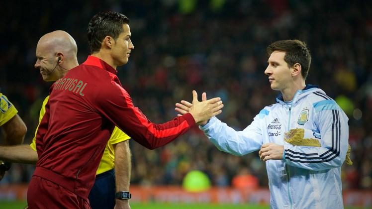 Ronaldo & Messi: respect.